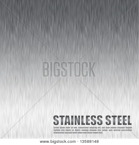 Vector Stainless Steel Background