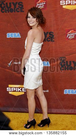 Emma Stone at the Spike TV's 2nd Annual