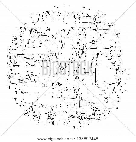Grunge texture white and black. Sketch abstract to Create Distressed Effect. Overlay Distress grain monochrome design. Stylish modern background for different print products. Vector illustration