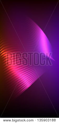 Presentation Design Vertical Banner Flyer Layout Background43