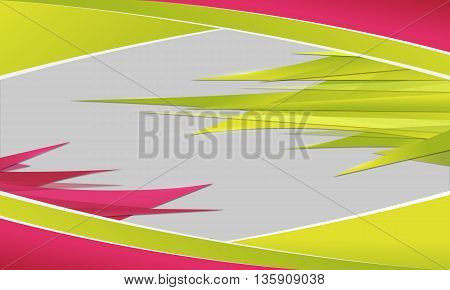 Abstract background with sharp spikes. Desktop wallpaper.