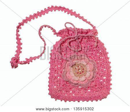 Ladies' Handbag Of Handwork