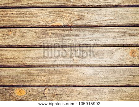 Wooden Horizontal Boards