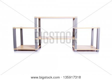 TV stand isolated on the white background