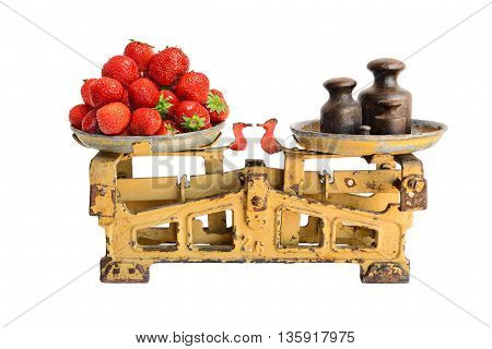 Strawberry On Old Scales