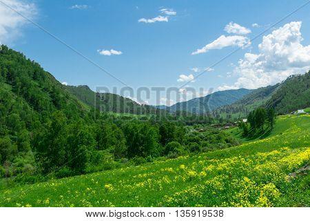 Republic Of Altai Mountains