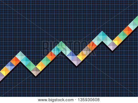 balance Sheet development, information, increase, economics climb