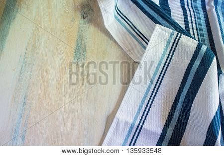 Kitchen Towel On The Table