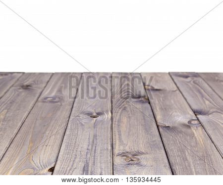 Empty gray wooden table product display montage