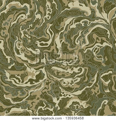 pattern with the image texture of smoke khakis brown and gray shades