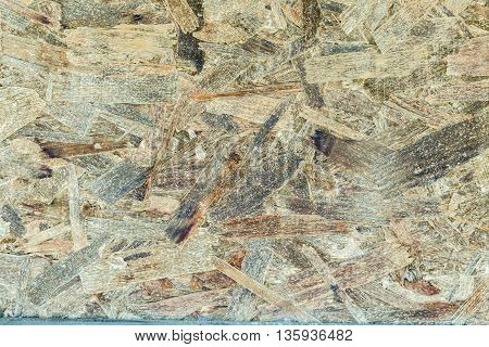 Closeup of wood stained wall textured surface