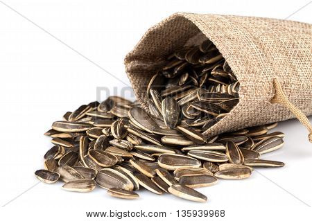 Sunflower Seeds In Sack