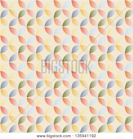 Seamless pattern oriental style. Vector background/ Illustration
