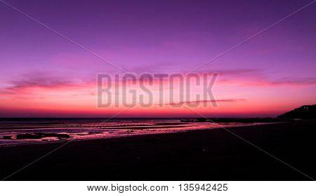Bright Horizon Night is Coming