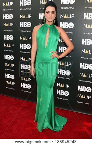 LOS ANGELES - JUN 25:  Scarlet Gruber at the NALIP 2016 Latino Media Awards at the The Dolby on June 25, 2016 in Los Angeles, CA