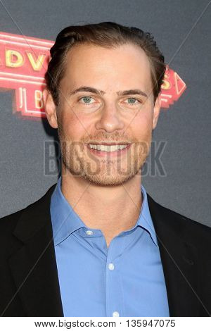 LOS ANGELES - JUN 23:  Erik Von Detten at the 100th DCOM Adventures In Babysitting LA Premiere Screening at the Directors Guild of America on June 23, 2016 in Los Angeles, CA