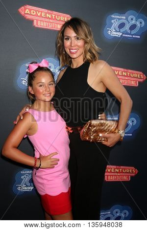 LOS ANGELES - JUN 23:  Daughter, Kelly Dodd at the 100th DCOM Adventures In Babysitting LA Premiere Screening at the Directors Guild of America on June 23, 2016 in Los Angeles, CA