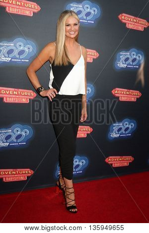 LOS ANGELES - JUN 23:  Nancy O'Dell at the 100th DCOM Adventures In Babysitting LA Premiere Screening at the Directors Guild of America on June 23, 2016 in Los Angeles, CA