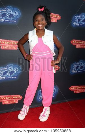 LOS ANGELES - JUN 23:  Trinitee Stokes at the 100th DCOM Adventures In Babysitting LA Premiere Screening at the Directors Guild of America on June 23, 2016 in Los Angeles, CA