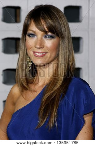 Natalie Zoe at the Los Angeles premiere of 'RockNRolla' held at the ArcLight Theater in Los Angeles, USA on October 6, 2008.