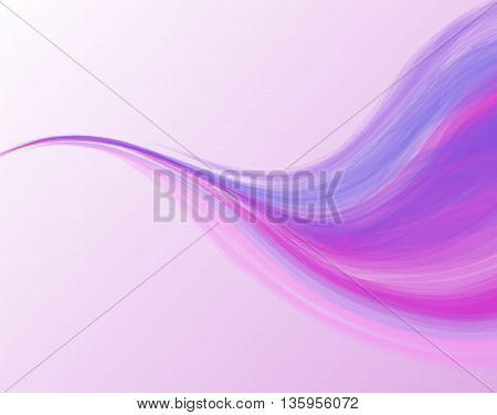 Vector abstract wave background light background with place for text