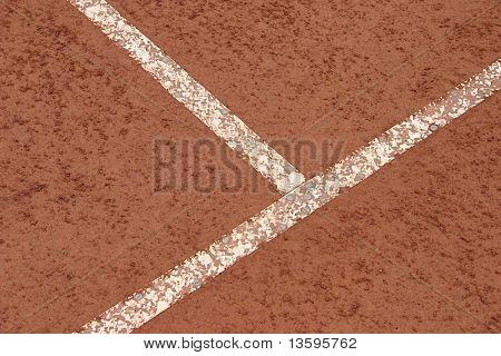 clay tennis court texture