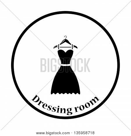 Elegant Dress On Shoulders Icon