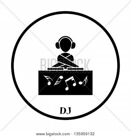 Night Club Dj Icon