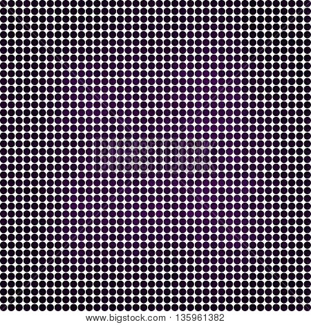 abstract vector colored round dots background - purple and violet