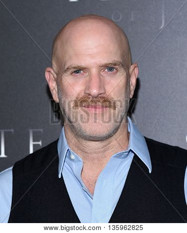 LOS ANGELES - JUN 21:  Bruno Gunn arrives to the