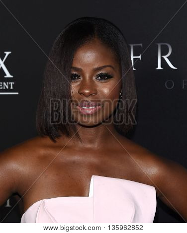 LOS ANGELES - JUN 21:  Erica Tazel arrives to the
