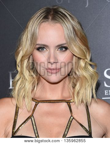 LOS ANGELES - JUN 21:  Helena Mattsson arrives to the