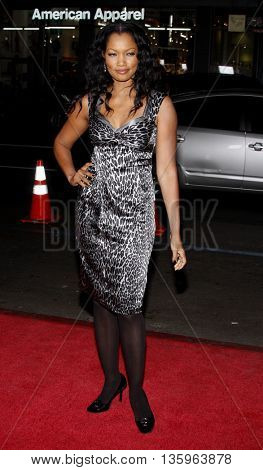 Garcelle Beauvais at the Los Angeles premiere of 'Max Payne' held at the Grauman's Chinese Theater in Los Angeles, USA on October 13, 2008.