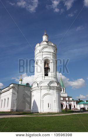 Georgievskaya Bell Tower in the Kolomenskoe.