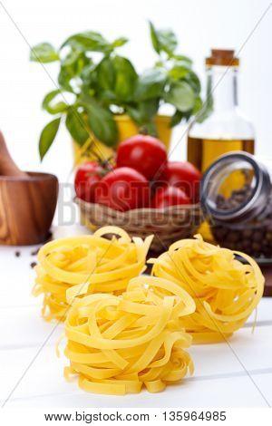 Italian Food Pasta Ingredients