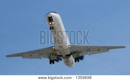 Jet Airplane Landing