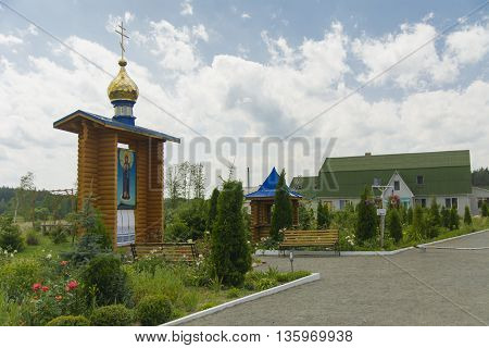 Monastery of Our Lady of Kazan. The monastery buildings.