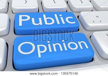 Public Opinion - Human Culture Concept