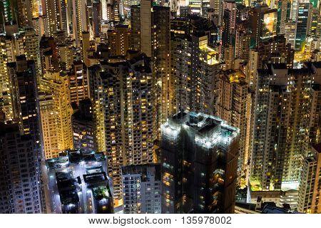 Hong Kong High-rise building residence