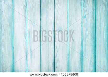 Blue rustic wooden background texture