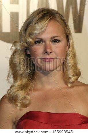 Laura Bell Bundy at the 56th Annual Primetime Emmy Awards - Showtime After Party held at the Morton's in Beverly Hills, USA on September 19, 2004.
