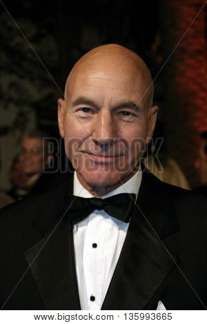 Patrick Stewart at the 56th Annual Primetime Emmy Awards - Showtime After Party held at the Morton's in Beverly Hills, USA on September 19, 2004.