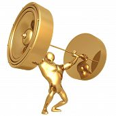 pic of weight-lifting  - A Concept And Presentation Figure in 3D - JPG