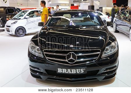 FRANKFURT - SEP 17: Mercedes Brabus car shown at the 64th Internationale Automobil Ausstellung (IAA) on September 17, 2011 in Frankfurt, Germany.