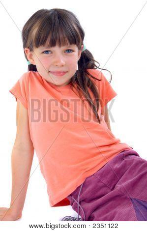Adorable Brunette Girl