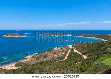Capo Codacavallo Beach