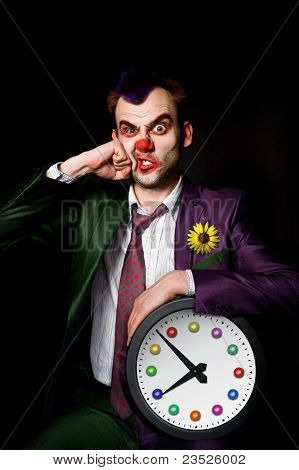 Punched Clown