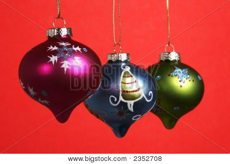 Crhistmas Decorations Bulbs Holiday
