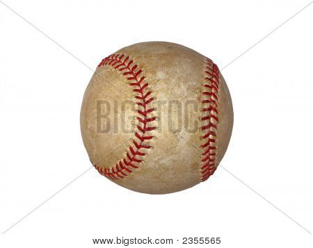 Baseball Isolated On White