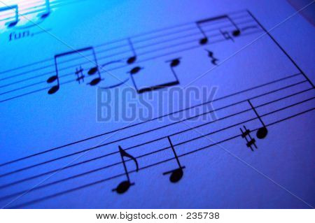 Purple Sheet Music